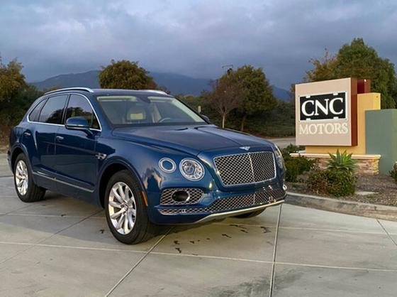 2017 Bentley Bentayga W12 First Edition:11 car images available