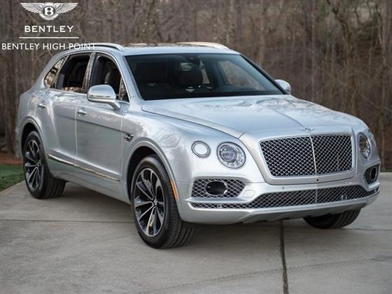 2018 Bentley Bentayga W12 Signature:13 car images available