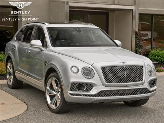 2018 Bentley Bentayga W12 Signature:13 car images available