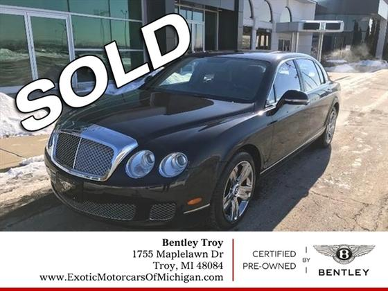 2011 Bentley Continental Flying Spur:12 car images available