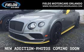 2017 Bentley Continental GT Speed : Car has generic photo
