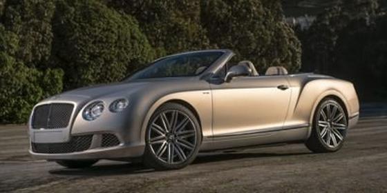 2014 Bentley Continental GT Speed : Car has generic photo