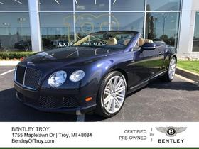 2014 Bentley Continental GT Speed:23 car images available