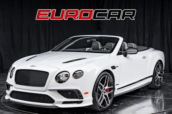 2018 Bentley Continental GT Supersports:24 car images available
