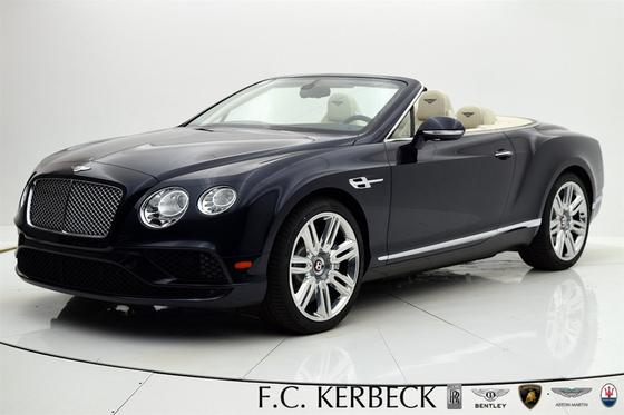 2017 Bentley Continental GT V8 Convertible:24 car images available