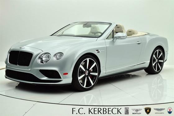 2017 Bentley Continental GT V8 S Convertible:24 car images available