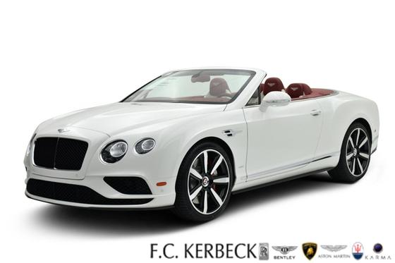 2016 Bentley Continental GT V8 S Convertible For Sale in Palmyra, NJ ...