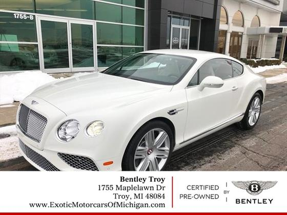 2016 Bentley Continental GT V8:13 car images available