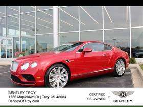 2016 Bentley Continental GT V8:15 car images available