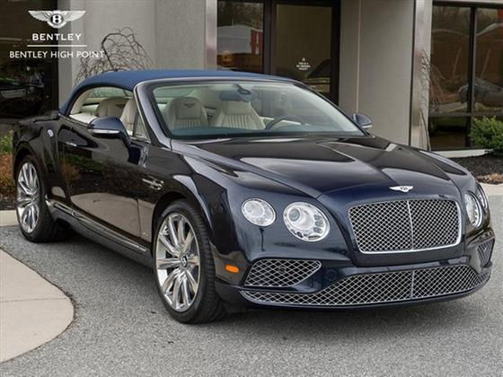 2018 Bentley Continental GT W12 Convertible:20 car images available