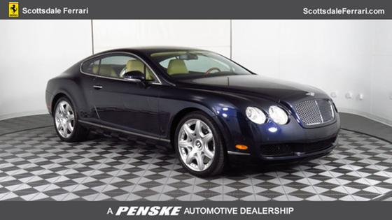 2006 Bentley Continental GT:24 car images available