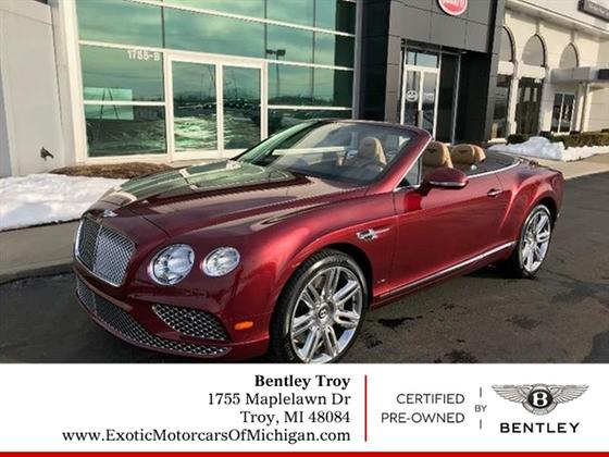 2017 Bentley Continental GT:16 car images available