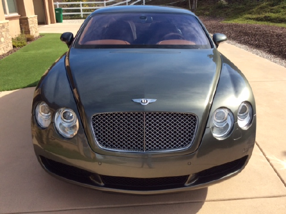 2005 Bentley Continental GT:10 car images available