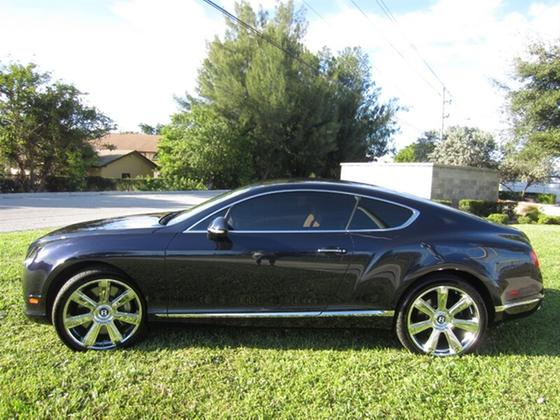 2012 Bentley Continental GT:19 car images available