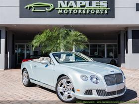 2013 Bentley Continental GTC Mulliner:24 car images available