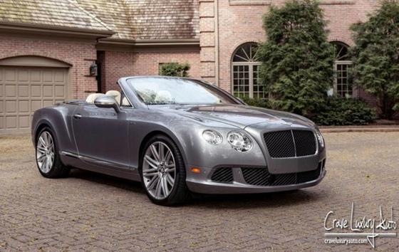 2014 Bentley Continental GTC Speed:16 car images available