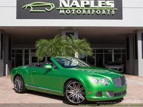 2014 Bentley Continental GTC Speed:24 car images available