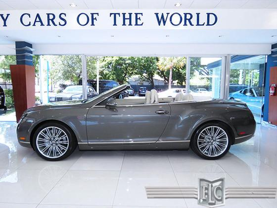 2011 Bentley Continental GTC Speed:24 car images available