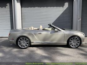 2014 Bentley Continental GTC Speed:3 car images available