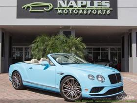2016 Bentley Continental GTC V8 S:24 car images available