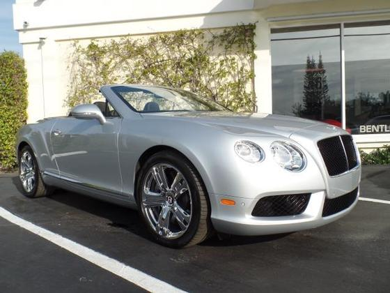 2013 Bentley Continental GTC V8:12 car images available