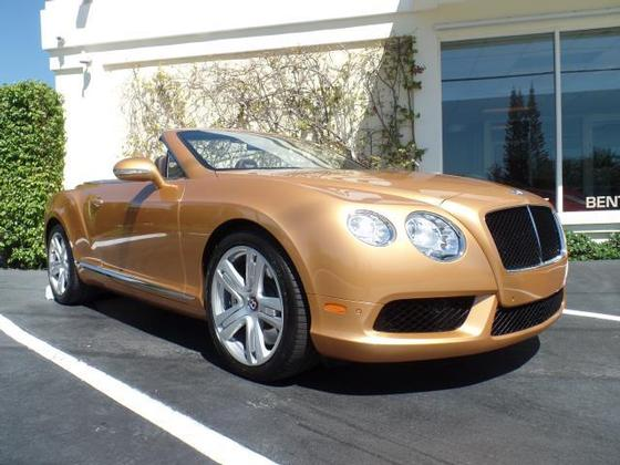 2014 Bentley Continental GTC V8:12 car images available