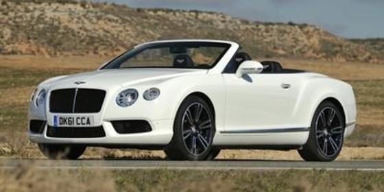 2014 Bentley Continental GTC V8 : Car has generic photo