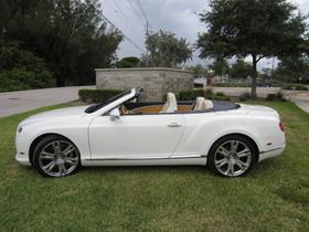 2013 Bentley Continental GTC V8:24 car images available