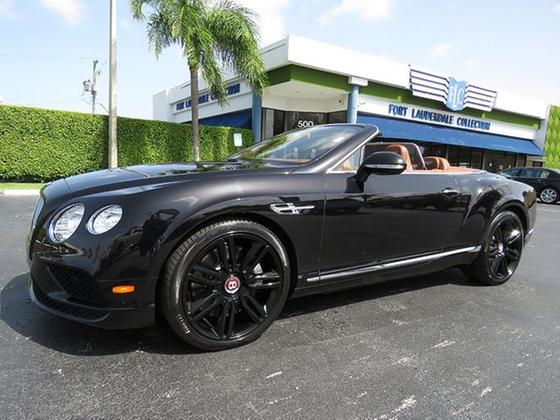 2016 Bentley Continental GTC V8:24 car images available