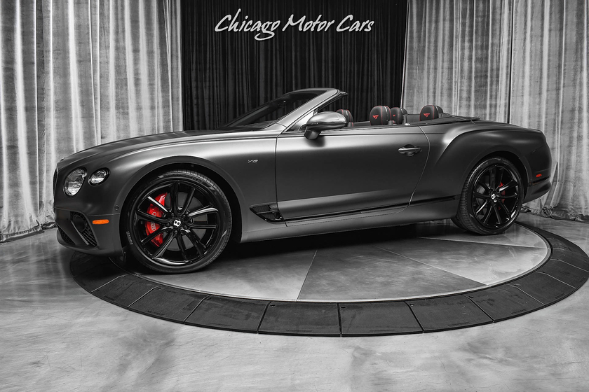 2020 Bentley Continental GTC V8:24 car images available
