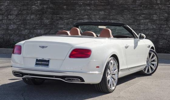 2018 Bentley Continental GTC