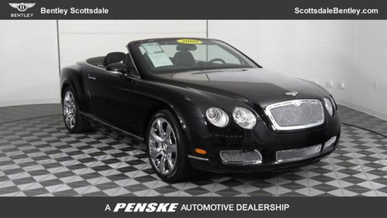 2009 Bentley Continental GTC:24 car images available
