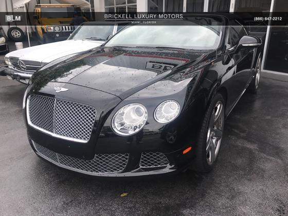 2012 Bentley Continental GTC:9 car images available