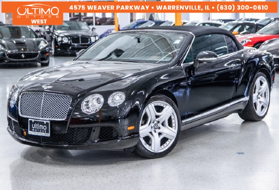 2012 Bentley Continental GTC:6 car images available
