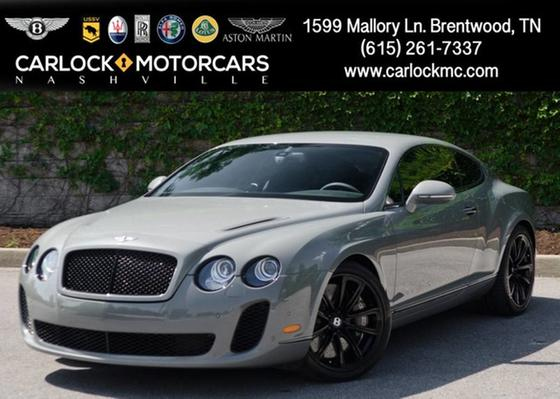 2010 Bentley Continental Supersports:24 car images available
