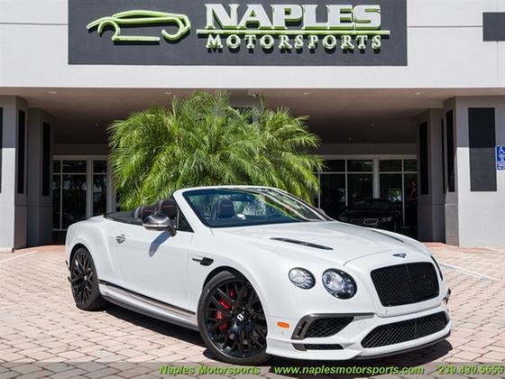2018 Bentley Continental Supersports:24 car images available