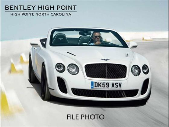 2011 Bentley Continental Supersports : Car has generic photo