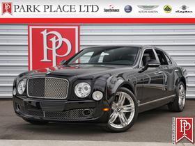 2012 Bentley Mulsanne  : Car has generic photo