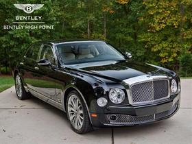 2016 Bentley Mulsanne Mulliner:23 car images available
