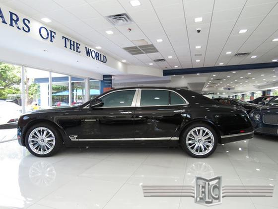 2013 Bentley Mulsanne Mulliner:24 car images available