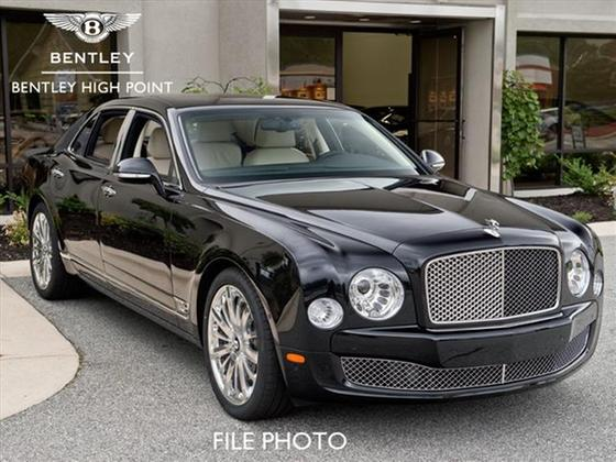 2013 Bentley Mulsanne Mulliner : Car has generic photo