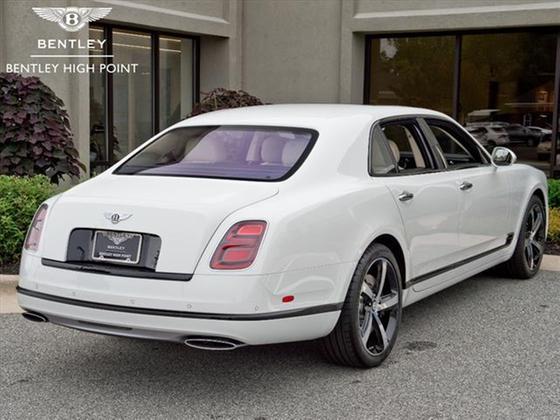 2018 Bentley Mulsanne Mulliner