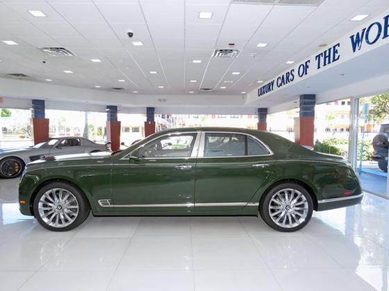 2017 Bentley Mulsanne Mulliner:24 car images available
