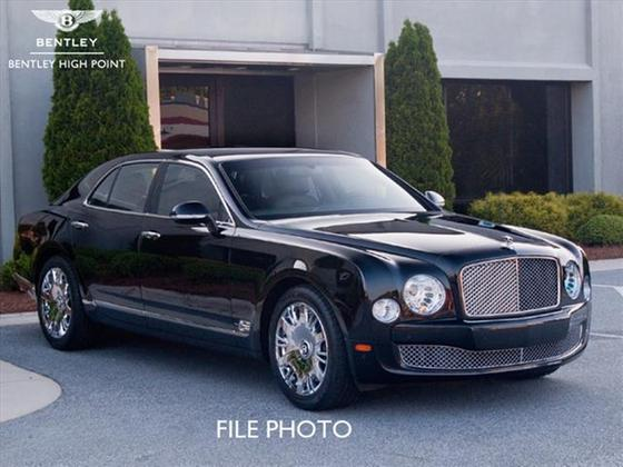 2013 Bentley Mulsanne Mulliner:4 car images available