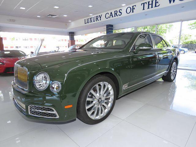 2017 Bentley Mulsanne Mulliner