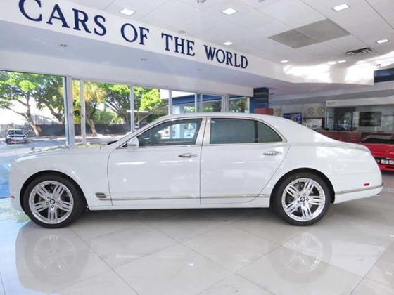 2012 Bentley Mulsanne Premiere:24 car images available