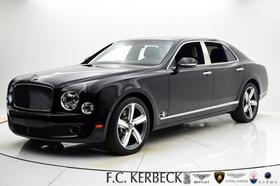 2016 Bentley Mulsanne Speed:24 car images available
