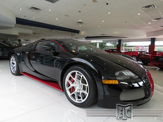 2012 bugatti veyron grand sport for sale in fort. Black Bedroom Furniture Sets. Home Design Ideas