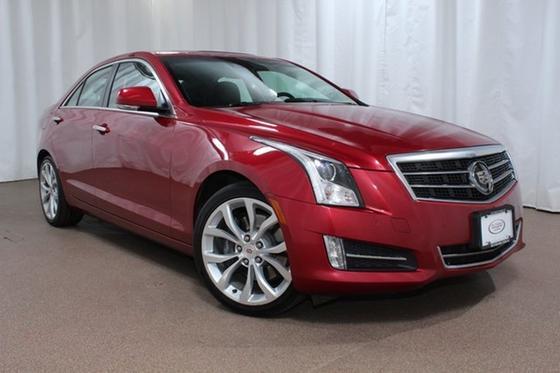 2013 Cadillac ATS 2.0L Turbo Premium:24 car images available