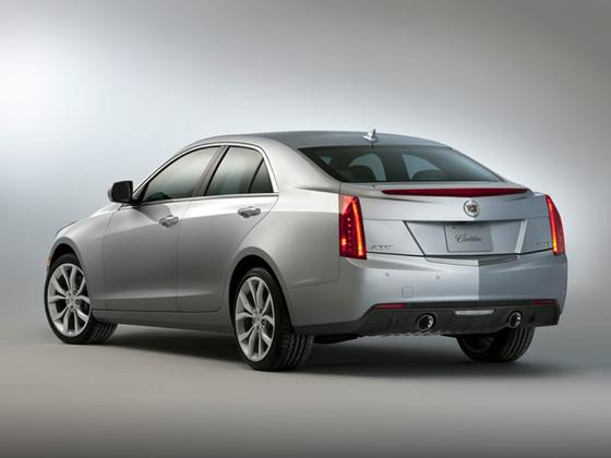 2014 Cadillac ATS 2.0T Luxury : Car has generic photo